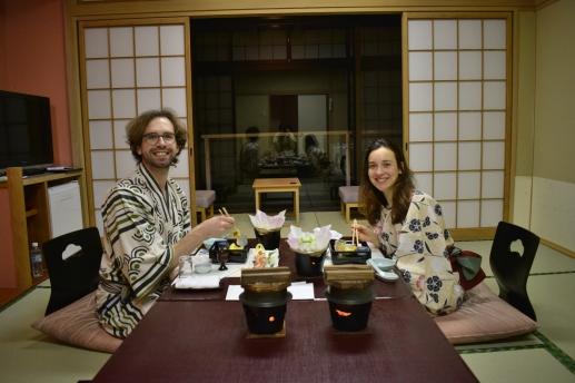 Ryokan dinner time!