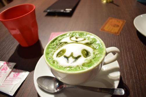 Cute Matcha Late @ Home Café